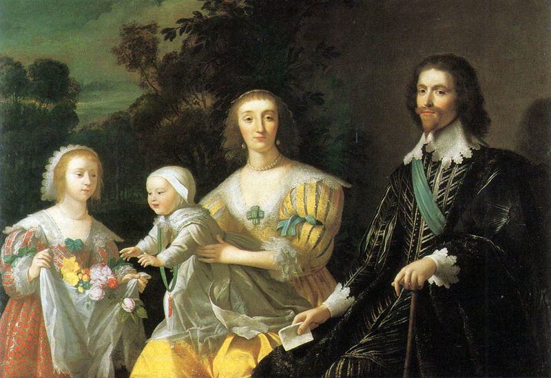 800px-George_Villiers_Duke_of_Buckingham_and_Family_1628_