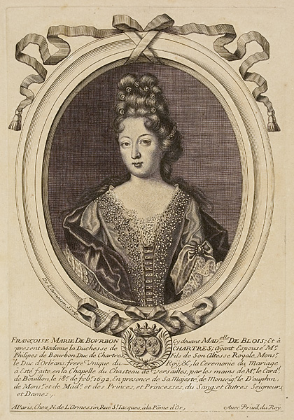 Print_of_Françoise-Marie_de_Bourbon_in_1692;_duchesse_de_Chartres
