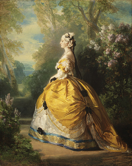 marie antoinette fashion history. as Marie Antoinette in