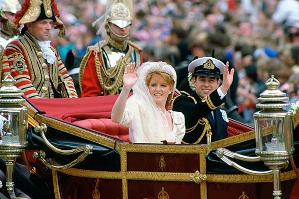 The other 80s royal wedding the Yorks 1986