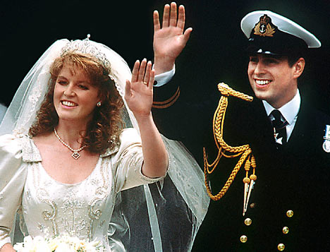 ... a few months of being called 'Fergie' in reference to the royal bride.
