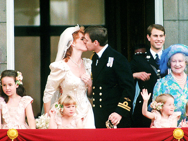 I actually remember the wedding of the Duke and Duchess of York on the 23rd